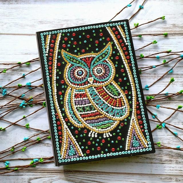 Cahier notebook chouette