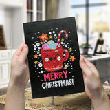 Notebook merry christmas - Broderiesdiamants.fr