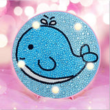 Lampe de chevet junior | Broderie diamants - Broderiesdiamants.fr