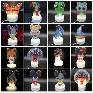 Lampe LED animaux