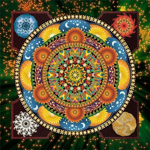 Les mandalas - Kit broderie diamants - Broderiesdiamants.fr