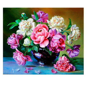 Floraison de printemps - Kit broderie diamants - Broderiesdiamants.fr