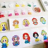 Stickers autocollants cartoons - Broderies diamants