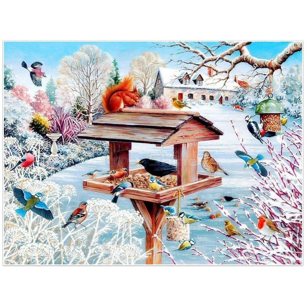 Sublime paysage - Kit broderie diamants - Broderiesdiamants.fr