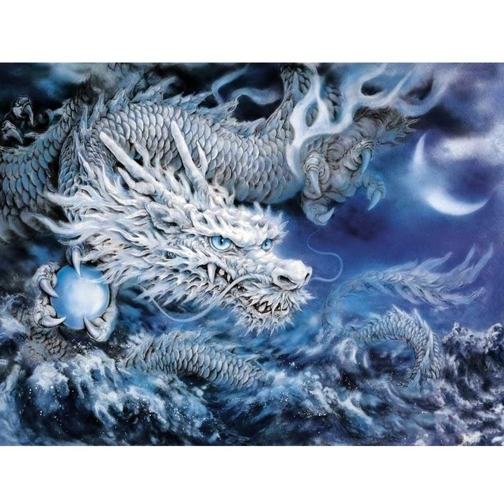 Fureur de dragon | Kit broderie diamants
