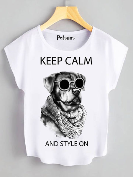 T Shirt - Keep calm and style on