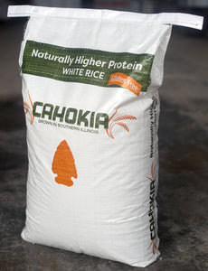 Naturally Higher Protein White Rice by Cahokia