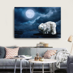 Polar Bear Canvas - Cotonz Online Shopping