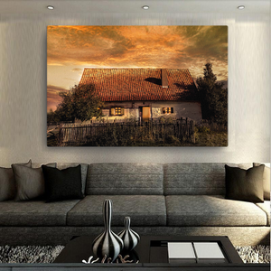 Old House Canvas - Cotonz Online Shopping