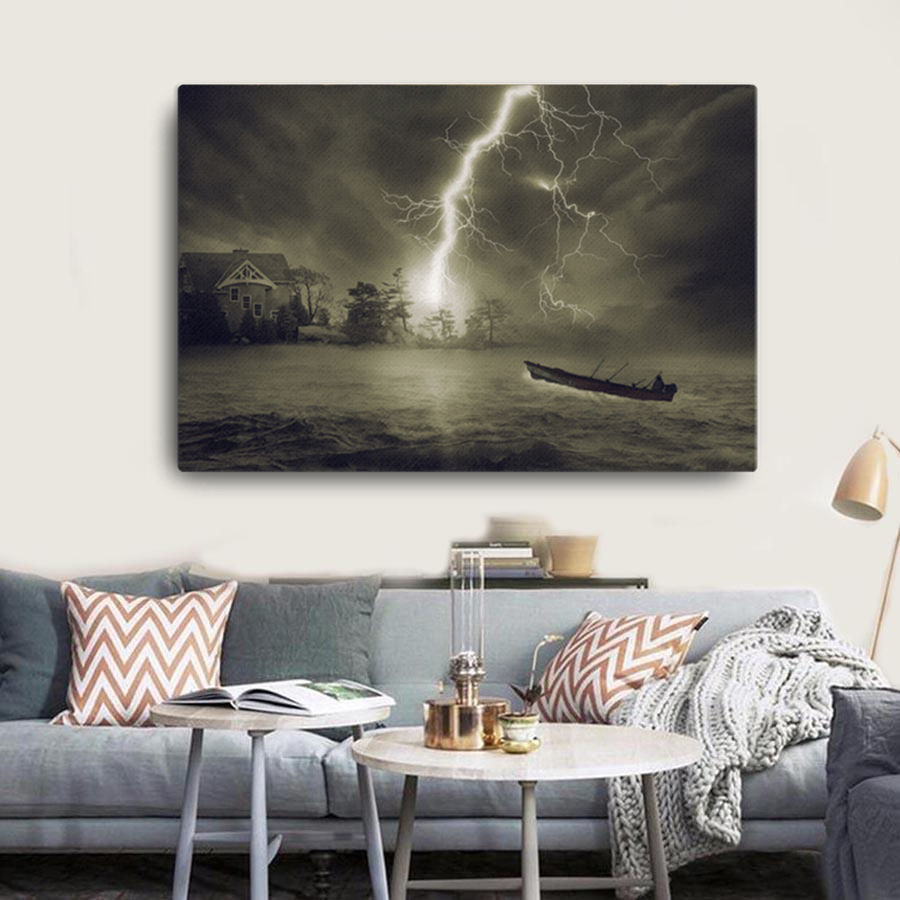 Thunderstorm Canvas - Cotonz Online Shopping