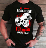 I Will Never Apologize for Being What I am