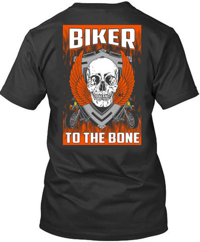 Biker to the Bone - Cotonz Online Shopping