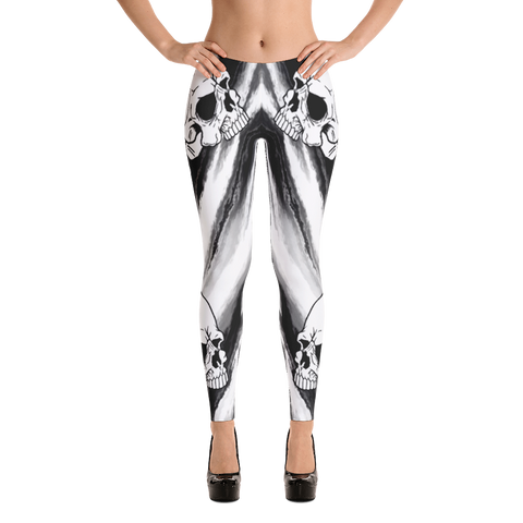 Ella  Skull Leggings - Cotonz Online Shopping