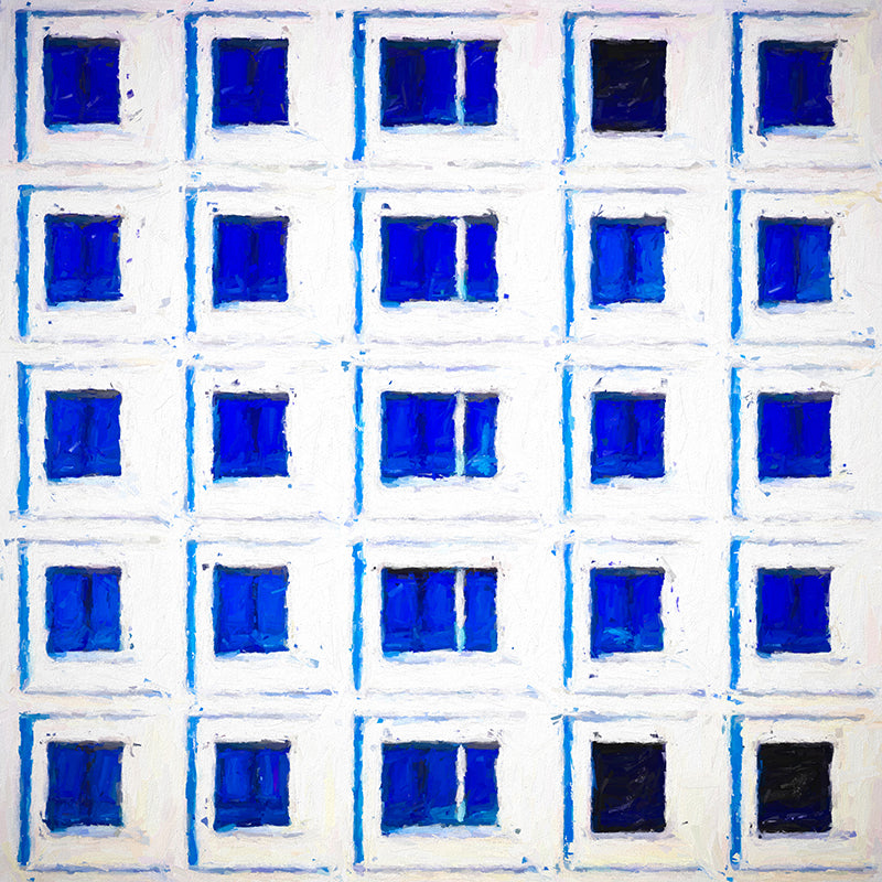 City in Blue 1