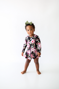 Milana Long Sleeved Twirl Skirt Bodysuit