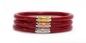 Three Kings Red All Weather Bangles