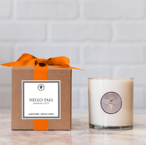 Hello Fall Candle