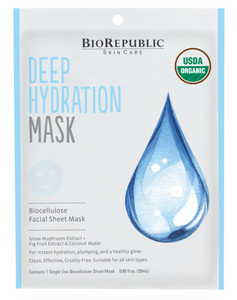 Deep Hydration Organic Sheet Mask