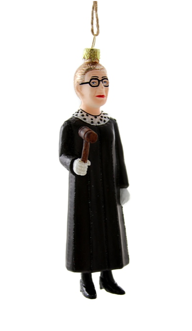 Ruth Bader Ginsberg Ornament