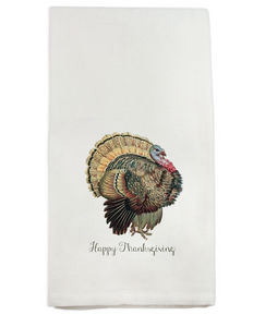 Happy Thanksgiving Turkey Dish Towel