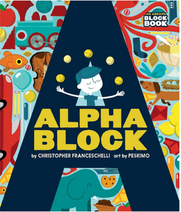 Alphablock Board Book