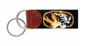 Missouri Needlepoint Key Fob