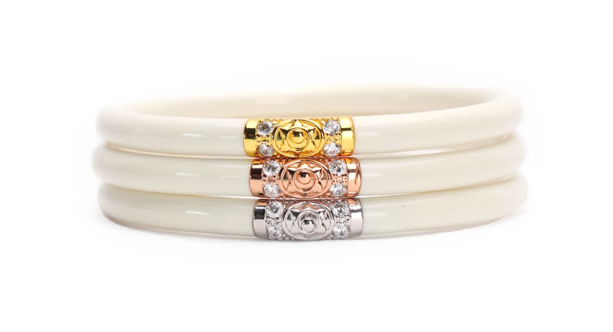 Three Kings Ivory All Weather Bangles