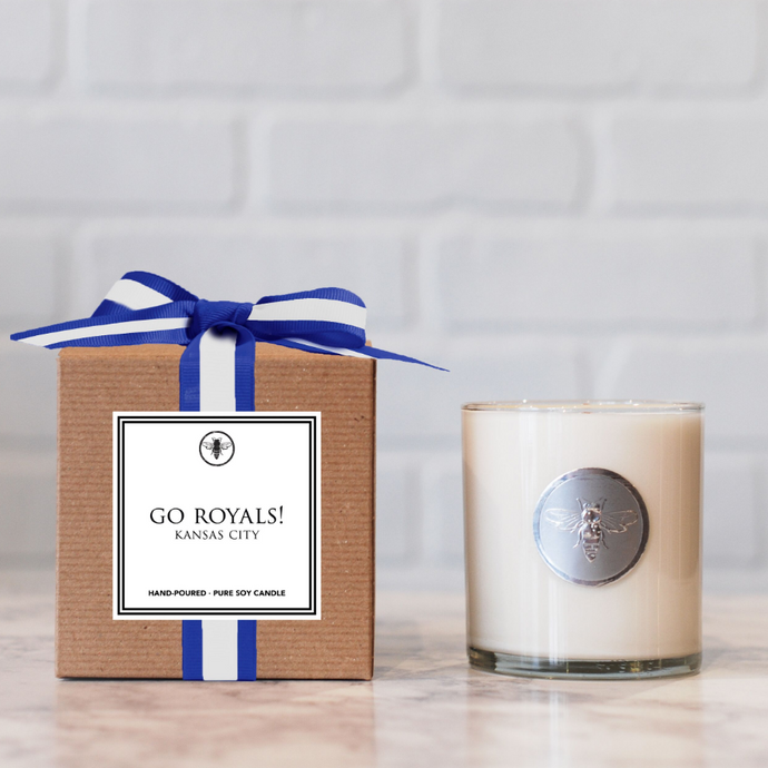 Go Royals! Candle