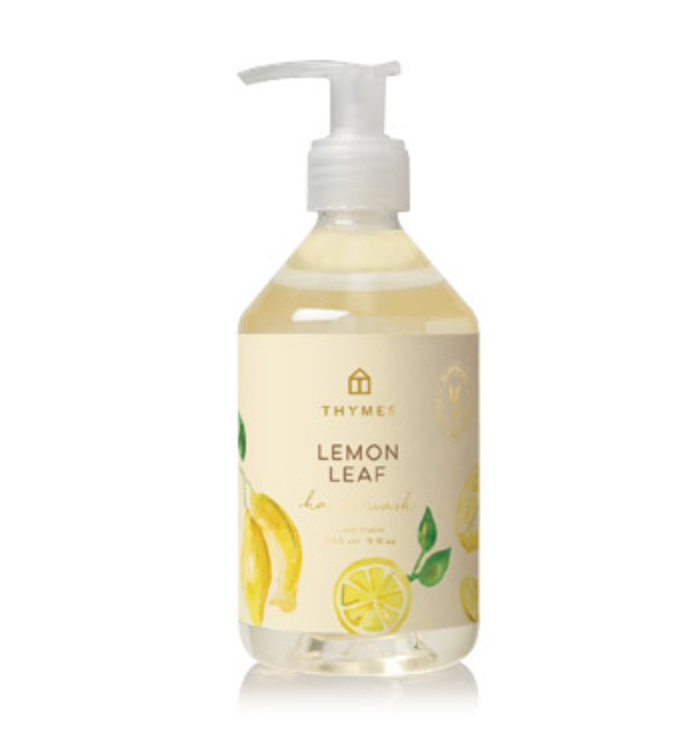 Thymes Lemon Leaf Hand Soap