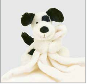 Bashful Puppy Soother by JellyCat