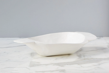 White Vintage Dough Bowl