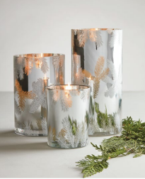 Frasier Fur Statement Luminary Candles