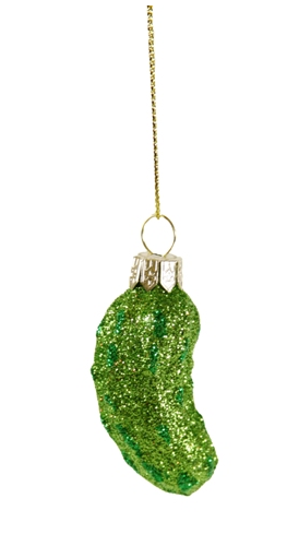 Tiny Pickle Ornament