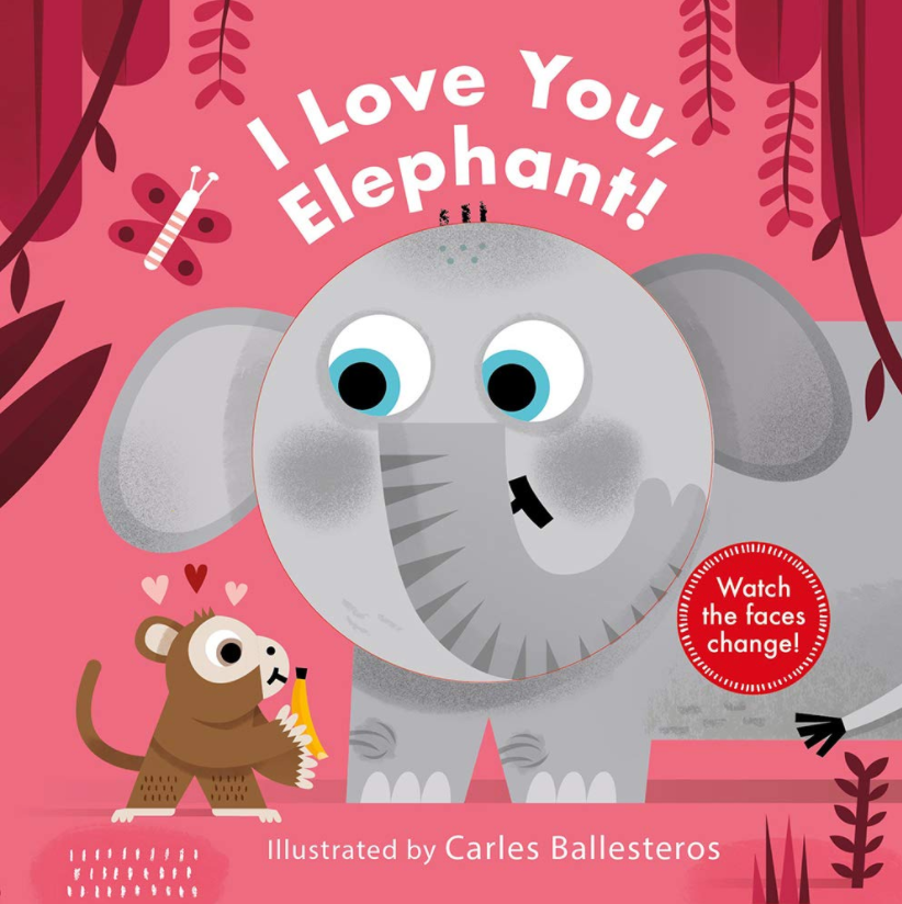 I Love you Elephant Book