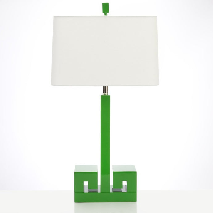 Green Lacquer Astor Table Lamp