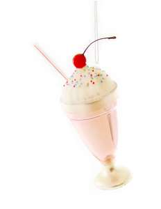 Tall Milkshake Ornament