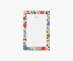 Rifle Wild Rose Notepad