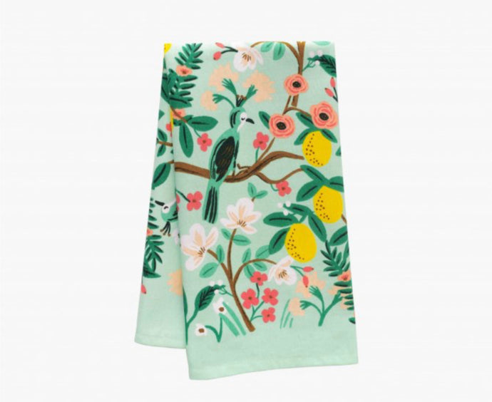 Rifle Paper Co. Shanghai Garden Tea Towel
