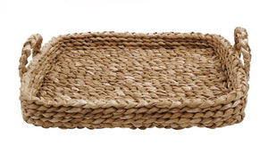 Braided Tray with Handles