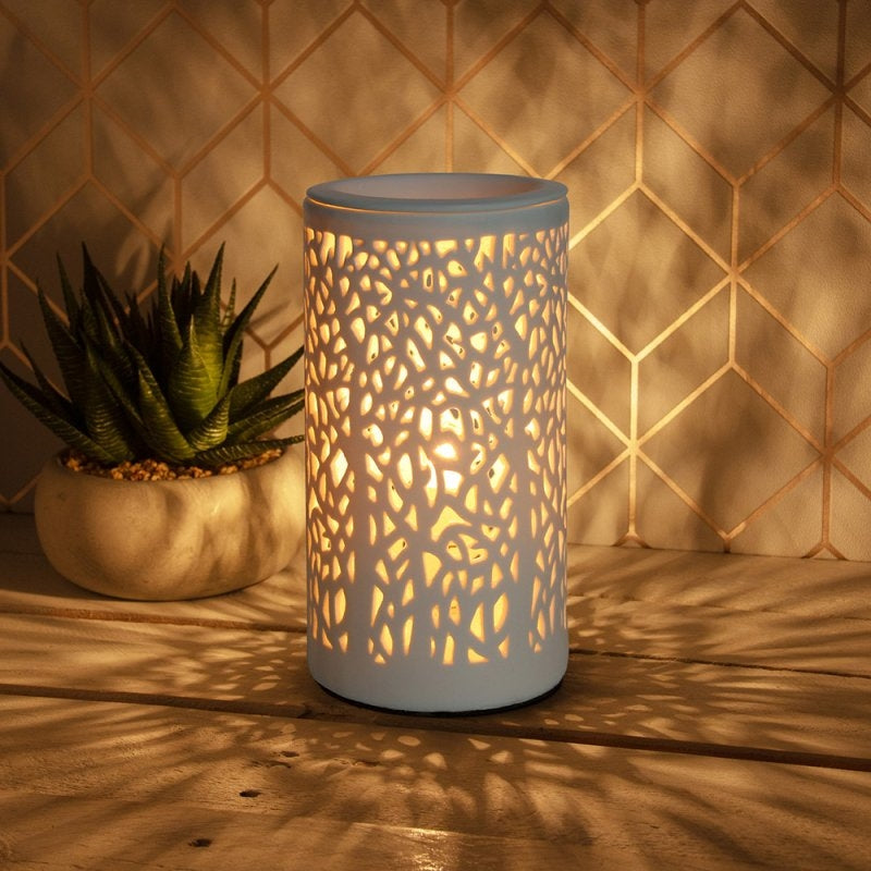Wax Warmer With Lamp And Dimmer - Tree Design20cm