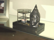 Buddha Tray Wax Warmer With Pebbles - MadisonMelts, Soy Wax Melts, Wax Warmers