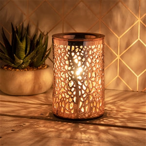 Rose Gold Wax Warmer Lamp
