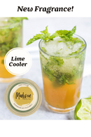 Lime Cooler Soy Wax Melt Pot