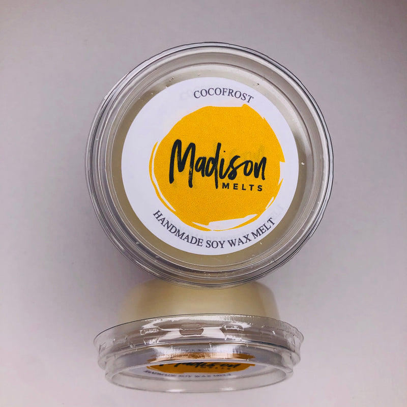 Cocofrost Soy Wax Melt Pot - Scented Soy Wax Melts | Wax Melt Warmers - MadisonMelts