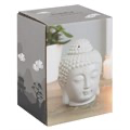 Grey Buddha Head Wax Warmer