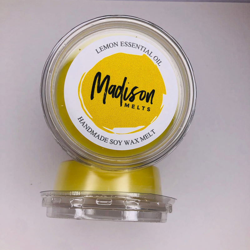Lemon Essential Oil Soy Wax Melt Pot