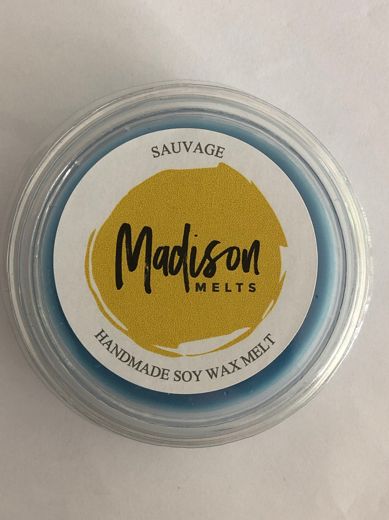 Sauvage Soy Wax Melt Pot