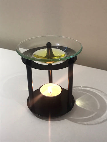 Black Metal Rod Wax Warmer