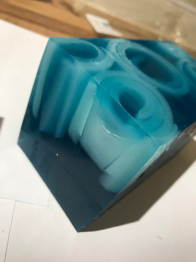 Blue Lagoon Fragranced Soap Slice - Scented Soy Wax Melts | Wax Melt Warmers - MadisonMelts