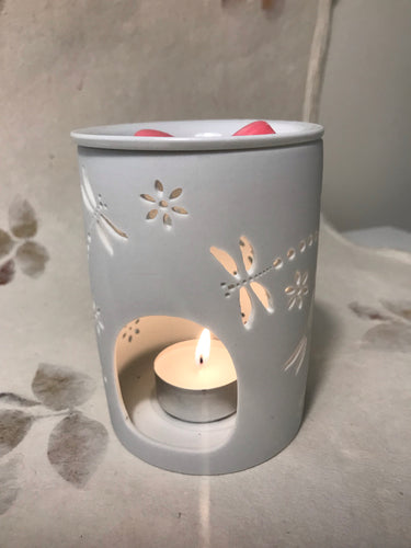 Ceramic Dragonfly Wax Warmer